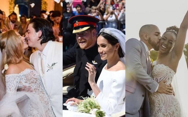 Este ano foi marcado por muitos casamentos dos famosos e, por isso, o Delas separou os que mais chamaram atenção