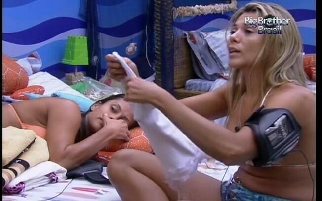 Fabiana volta a falar sobre sua discussão com Ronaldo