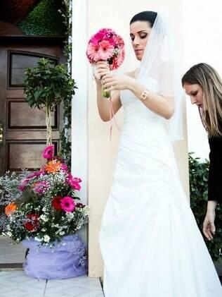 A noiva: rendas e romantismo