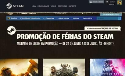 Promoção do Steam tem jogos para PC até 90% mais baratos