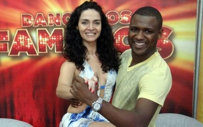 Claudia Ohana e Patrick Carvalho na final do