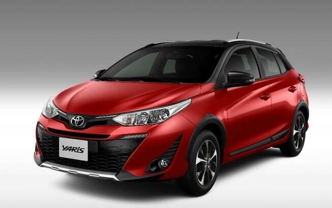 Além da atualização na multimídia, o Toyota Yaris X Way agora traz pintura em dois tons para não ficar para trás