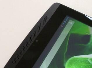 Tegra Note 7 tem alto-falantes acima e abaixo da tela