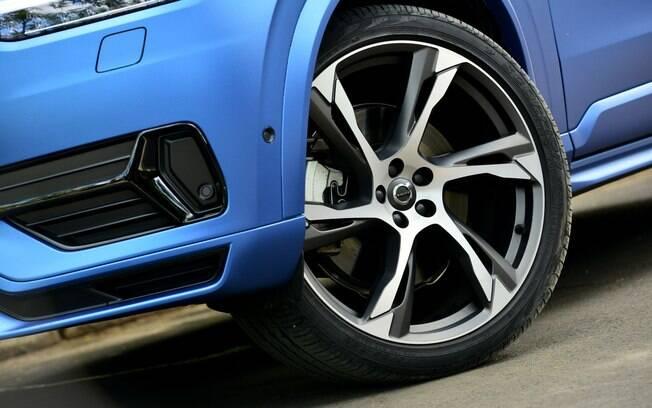 Volvo XC90 R-Design. Foto: Divulgação