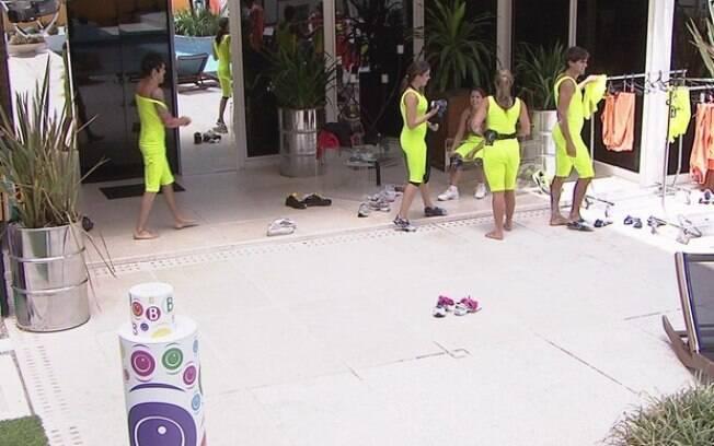 BBB13: Equipe Amarela vence Prova da Comida
