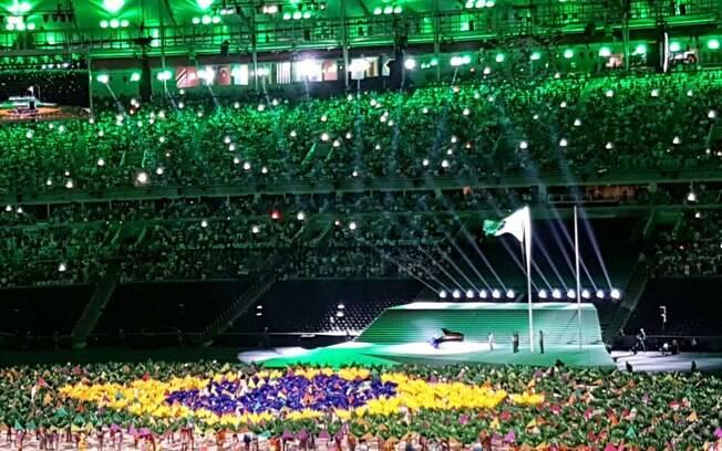Cerimônia de abertura dos Jogos do Rio