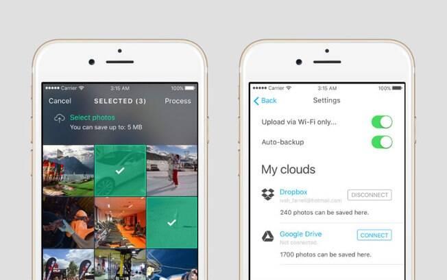 Desenvolvido pela Avast Software, aplicativo pode fazer 7 GB de fotos se transformarem em 1 GB