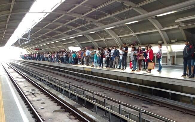 Greve dos metroviários reivindica privatização das Linhas 5-Lilás e 17-Ouro, quedeve acontecer nesta sexta-feira (19)