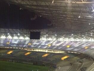 Mosaico cita os anos em que o Cruzeiro se sagrou bicampeão da Libertadores: 1976 e 1997