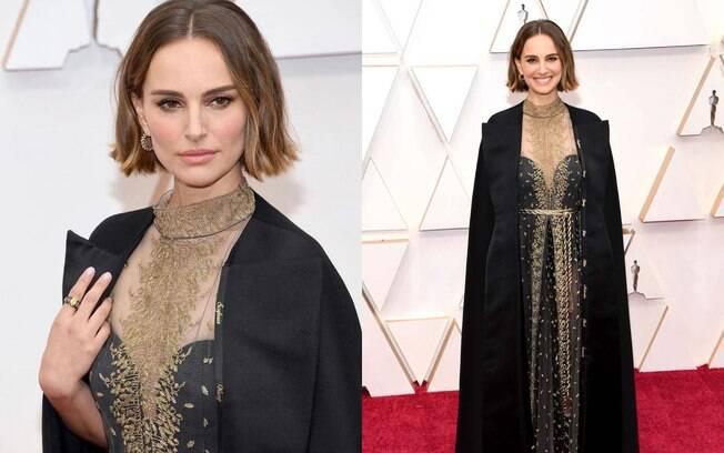 Natalie Portman usou um Dior para lembrar as diretoras mulheres que não foram indicadas