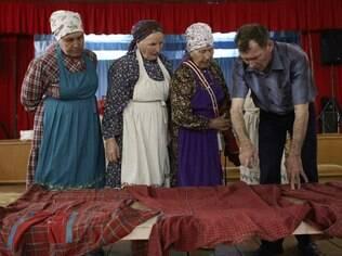Depois do sucesso, as velhinhas russas mudaram o figurino e repertório, com muito mais rock