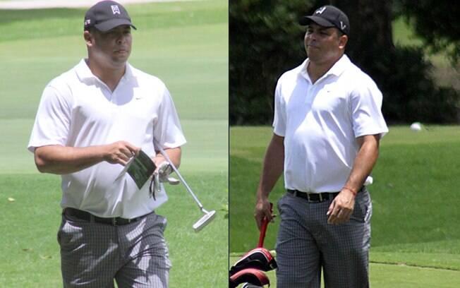 Ronaldo: jogo de golfe em fim de semana no Rio