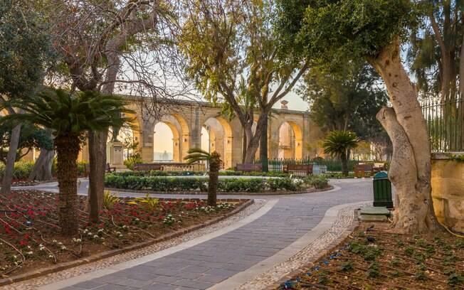 Upper Barrakka Gardens é um dos lugares disponíveis para a cerimônia