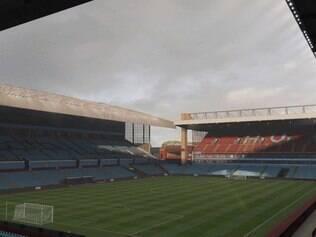 Villa Park, o estádio do Aston Villa, é um dos palcos que estarão presentes no FIFA 15
