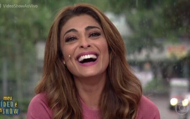 De folga da TV, Juliana Paes aproveita dia de sol e compartilha momento com seguidores