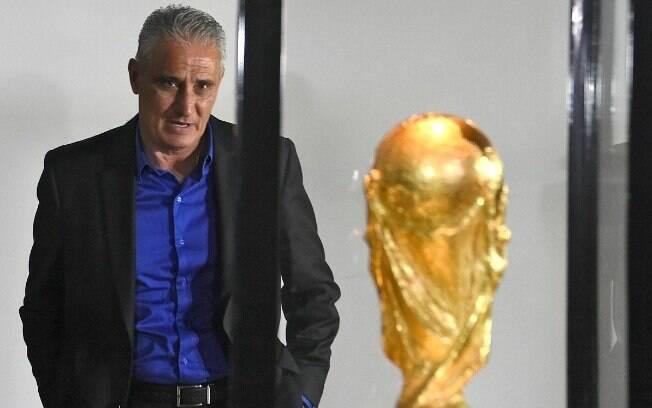 Tite fez sua primeira convocação na seleção brasileira