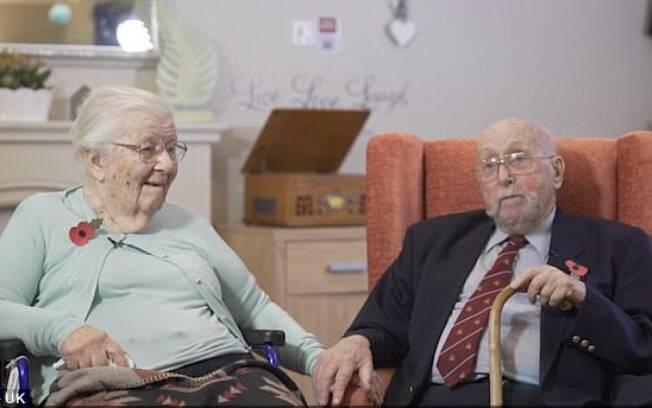 Iris e Sidney Grimes são um exemplo de casamento blindado, eles já estão juntos já mais de 73 anos