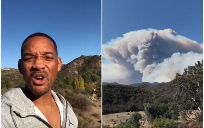 Will Smith, Lady Gaga, Kim Kardashian e outros famosos deixam suas casas em Malibu por conta dos fortes incêndios