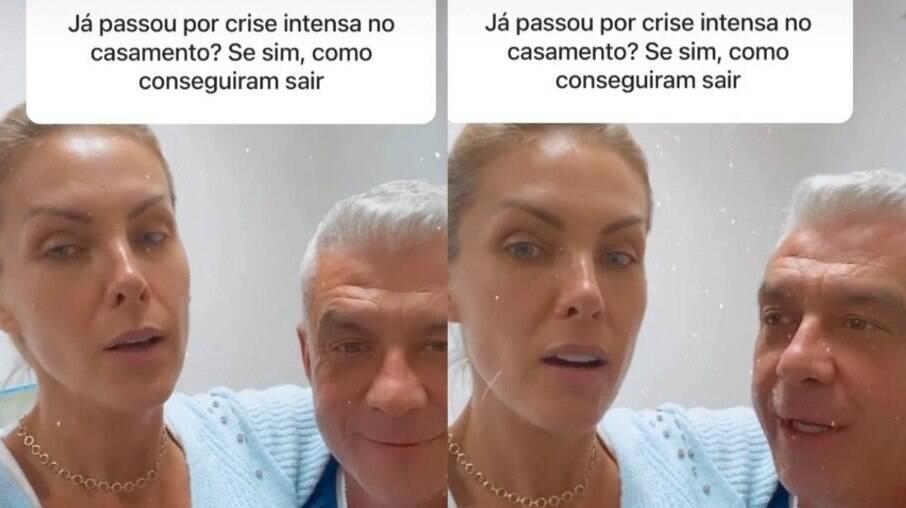 Ana Hickmann e Alexandre relembram crise