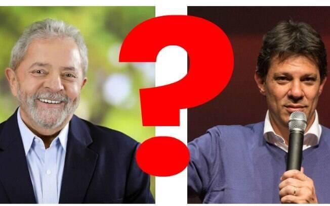 PT ainda não decidiu oficialmente sua chapa. Especulações apontam que se Lula não assumir, Haddad entrará na chapa