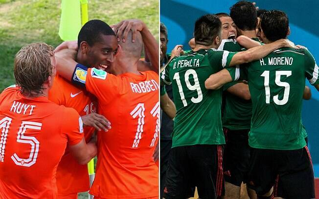 Holanda e México fazem o jogo das 13h neste domingo, em Fortaleza