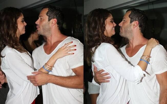 O casal Sophie Charlotte e Malvino Salvador retomam o namoro com tudo!