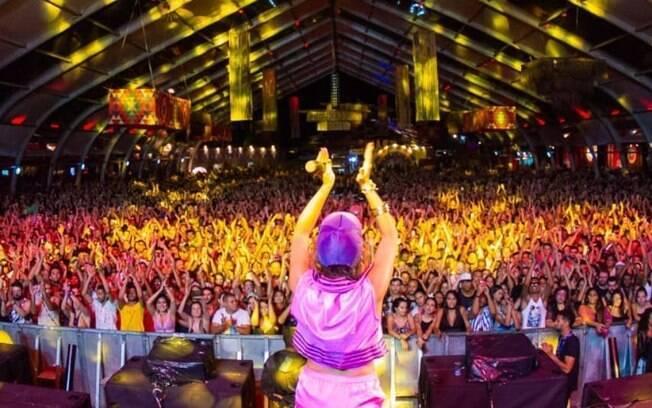 Anitta em show em Belo Horizonte