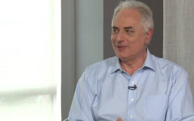 William Waack durante entrevista concedida a Augusto Nunes