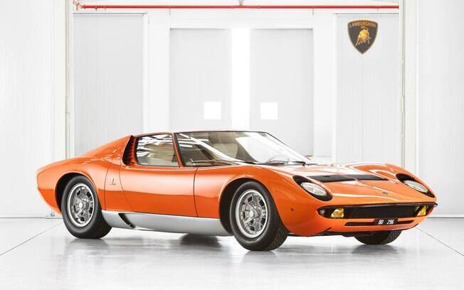 Um dos tópicos que mais chamam atenção neste Lamborghini Miura é o estado de conservação.
