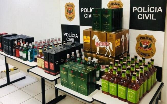 Homem é preso em Paulínia por venda de bebidas alcoólicas falsificadas