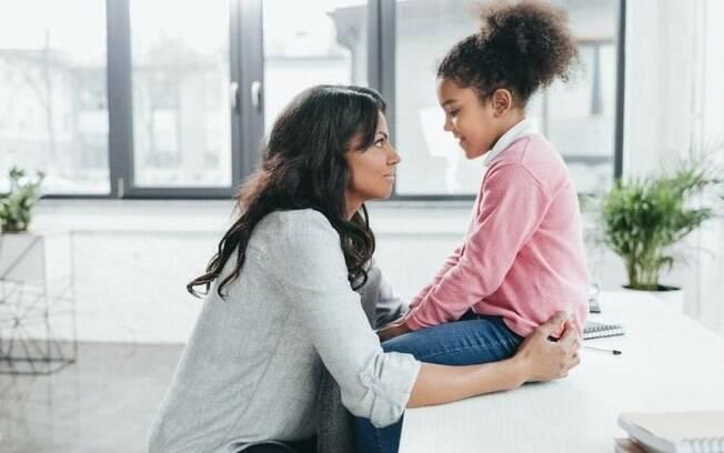 É importante para os pais conversar com os filhos e também dizer não e impor limites
