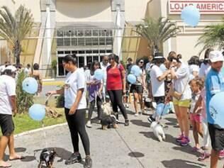 A Cãominhada, evento do projeto Férias em Boa Cãopanhia, do Betim Shopping em parceria com o Petshow, levou dezenas de cachorros para as ruas, no último dia 25, em um momento de confraternização e troca de experiências entre criadores e amantes de cães.