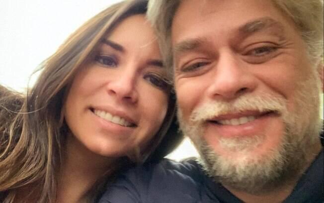 Fabio Assunção e Mel Pedroso
