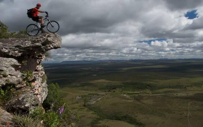 Trilhas pela Chapada Diamantina podem ser exploradas também de bicicleta