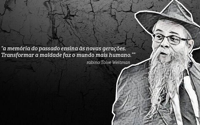 Relato do rabino Toive Weitman