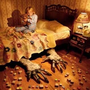 Foto do americano Joshua Hoffine, que tem uma série de imagens sobre medos no site www.joshuahoffine.com