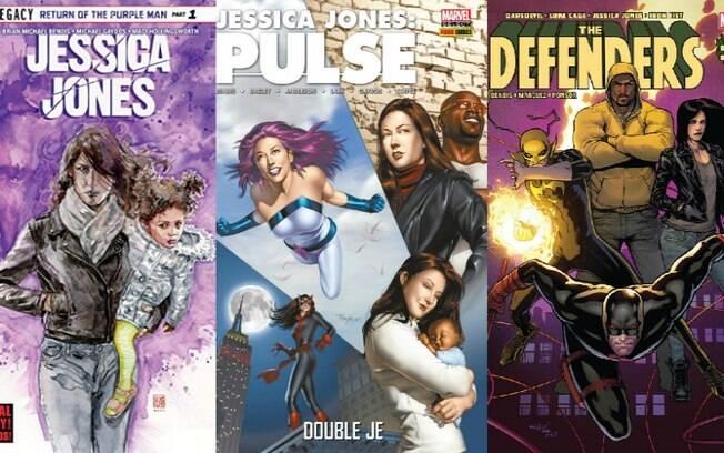 Jessica Jones é uma humana geneticamente modificada que largou a vida de heroína para ser investigadora particular