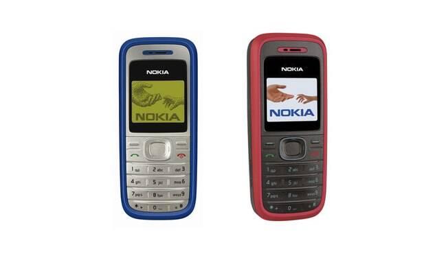 O Nokia 1200 foi um dos últimos modelos de sucesso da empresa.