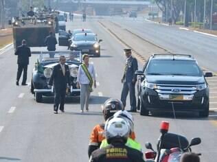 Presidente Dilma Rousseff (PT) abre as comemorações de Sete de Setembro