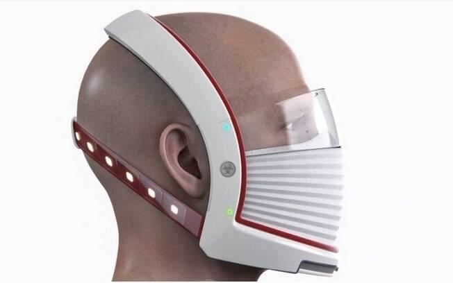 Máscara inspirada em Elon Musk protege contra o novo coronavírus e tem recursos tecnológicos