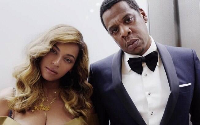 Beyoncé e Jay-Z são pais Blue Ivy, de seis anos e dos gêmeos Rumi e Sir