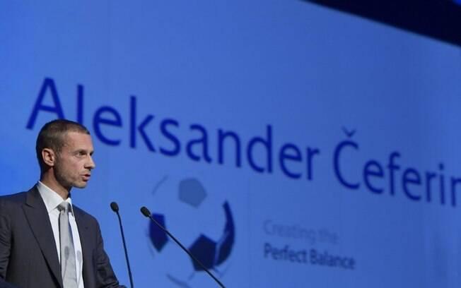 Aleksander Ceferin%2C presidente da Uefa
