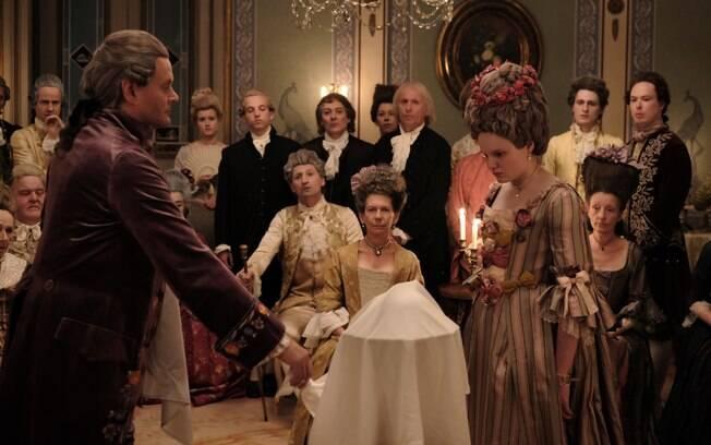 O médico e Maria em uma demonstração de sua capacidade de enxergar