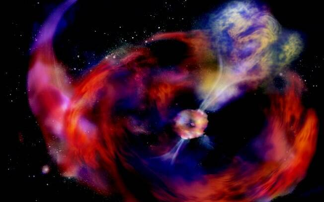 Raio X, Y e Gama. Foto: Simonnet, NASA E/PO
