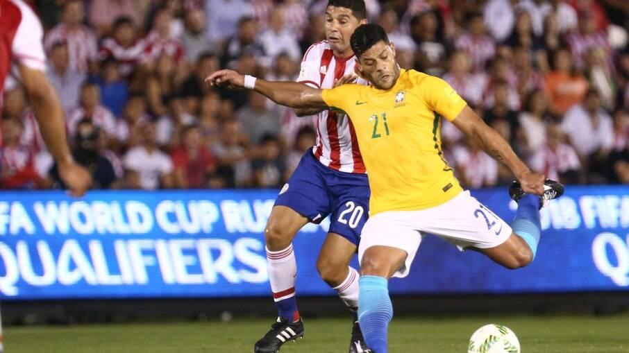 Brasil empatou com o Paraguai em Assunção