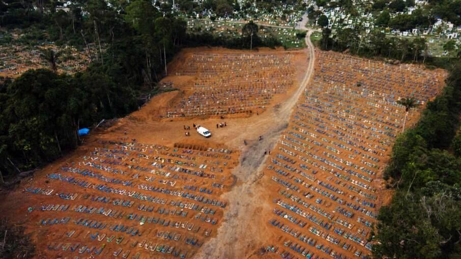 Cemitério público de Manaus, Nossa Senhora Aparecida, localizado no bairro Tarumã
