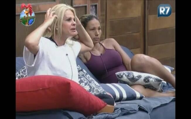 Titia fala sobre os cuidados que tem com os cabelos