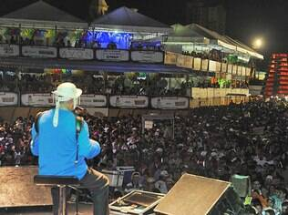 Dominguinhos foi uma das atrações em Campina Grande este ano