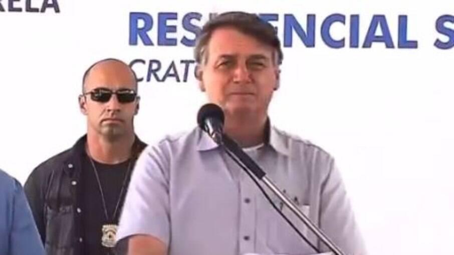 Bolsonaro é vaiado em evento no Ceará ao anunciar presença de deputado aliado