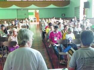Religiosos se reuniram em ação de graças à memória do padre